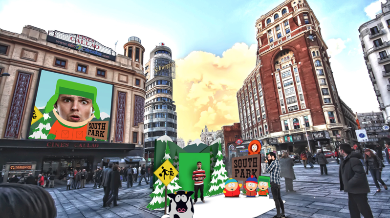 South Park con Jordi Wild Thinketers